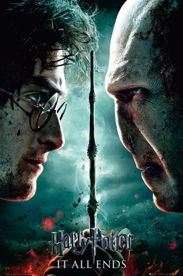 Harry Potter und die Heiligtümer des Todes Teil 2 Poster: Filmplakat | Kujumi