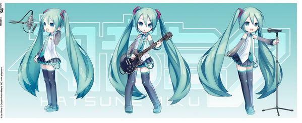 Vocaloid 280ml Tasse Hatsune Miku Chibi Bild 3