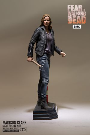 Fear The Walking Dead Color Tops Red Wave #4 Figur: Madison Clark – Bild 3