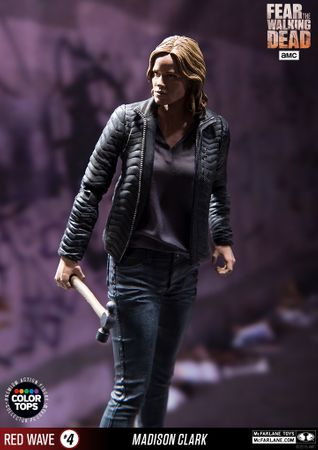 Fear The Walking Dead Color Tops Red Wave #4 Figur: Madison Clark – Bild 10