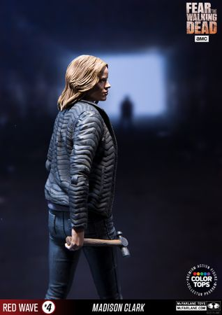 Fear The Walking Dead Color Tops Red Wave #4 Figur: Madison Clark – Bild 11