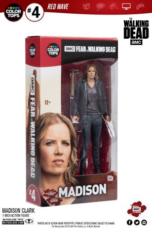 Fear The Walking Dead Color Tops Red Wave #4 Figur: Madison Clark – Bild 14