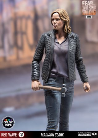 Fear The Walking Dead Color Tops Red Wave #4 Figur: Madison Clark – Bild 1