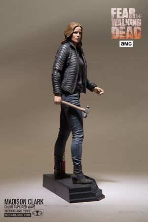 Fear The Walking Dead Color Tops Red Wave #4 Figur: Madison Clark – Bild 2