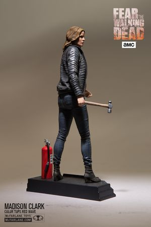 Fear The Walking Dead Color Tops Red Wave #4 Figur: Madison Clark – Bild 4