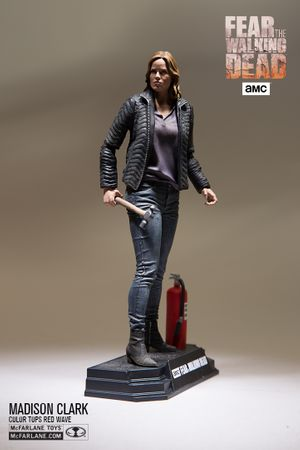 Fear The Walking Dead Color Tops Red Wave #4 Figur: Madison Clark – Bild 8
