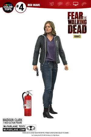Fear The Walking Dead Color Tops Red Wave #4 Figur: Madison Clark – Bild 13