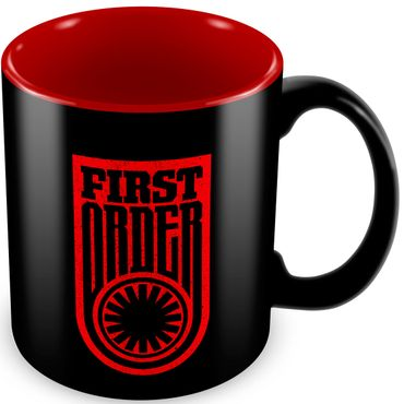 Star Wars: Episode VII - Das Erwachen der Macht 320ml Tasse: Erste Ordnung Logo [Schriftzug]