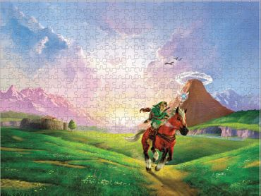 The Legend of Zelda: Ocarina of Time 3D Collector's Puzzle: Hylianische Steppe [550 Teile] – Bild 1