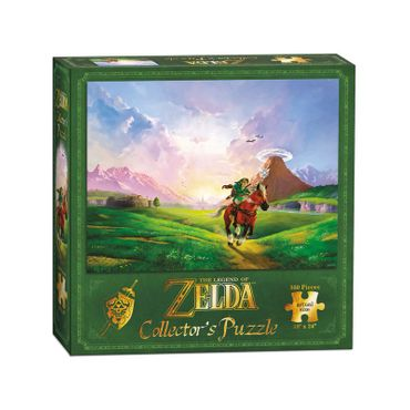 The Legend of Zelda: Ocarina of Time 3D Collector's Puzzle: Hylianische Steppe [550 Teile] – Bild 2