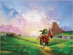 The Legend of Zelda: Ocarina of Time 3D Collector's Puzzle: Hylianische Steppe [550 Teile]