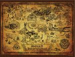 The Legend of Zelda Collector's Puzzle: Karte von Hyrule [550 Teile]