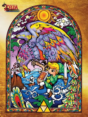 The Legend of Zelda: The Wind Waker HD Collector's Edition Puzzle: Wind Waker Series #1 [550 Teile]