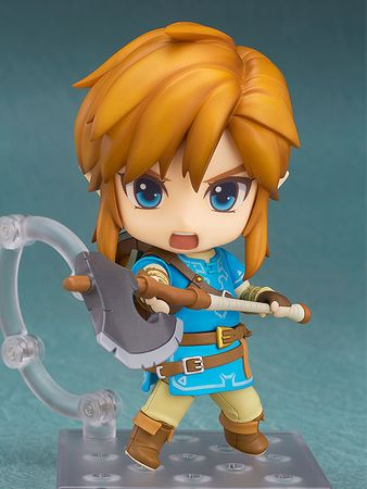 The Legend of Zelda: Breath of the Wild Nendoroid #733-DX Figur: Link [Deluxe Edition] – Bild 4