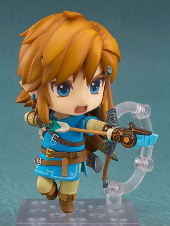 The Legend of Zelda: Breath of the Wild Nendoroid #733-DX Figur: Link [Deluxe Edition] – Bild 5