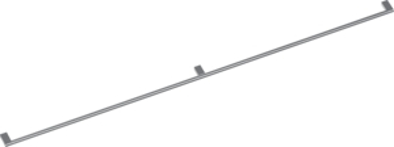 Gaggenau GH 140 010 Möbelgriff mit 3 Halterungen
