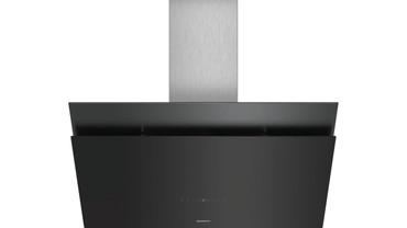 Siemens studioLine iQ500 Wand-Esse LC98KPP60S, Schwarz mit Glasschirm, 90 cm