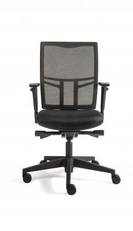 A&K 10.000 Home Collection Seat 7008 ergonomischer Bürostuhl Schwarz