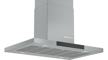 Bosch accent line Serie 6 Inselhaube DIB98JQ50 90 cm Edelstahl