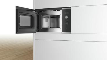 Bosch Serie | 6 Einbau-Mikrowelle Edelstahl BFL524MS0