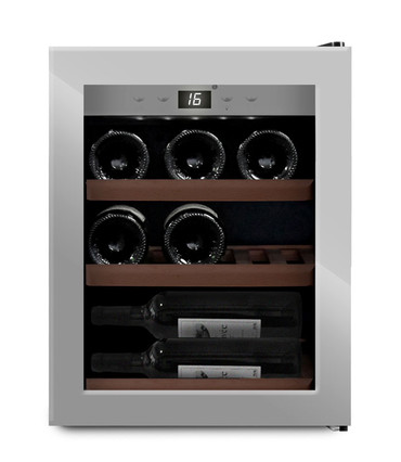mQuvée Weinkühlgerät WineExpert 12 Stainless SW-12
