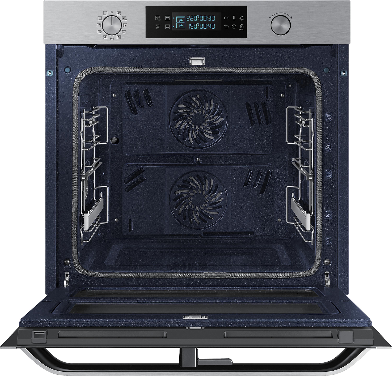 Samsung Dual Cook Flex Einbaubackofen, 75 ℓ, A+*, Pyrolyse, Edelstahl NV75N5671RS/EG