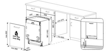 Beko DIT48530S Geschirrspüler