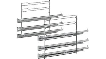 Bosch accent line Auszugsystem Edelstahl HEZ638370
