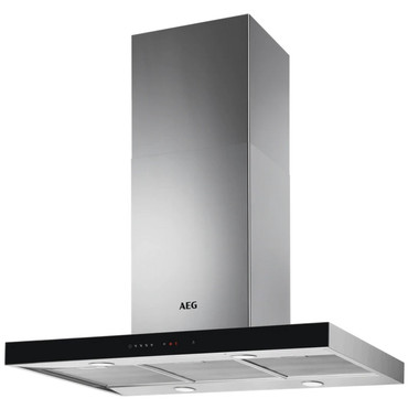 AEG Insel-Dunstabzugshaube / Abluft oder Umluft / 90cm / Hob²Hood / Touch-Bedienung DIE5961HG