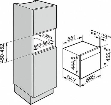 Miele DGM 6800 Dampfgarer mit Mikrowelle, Obsidianschwarz