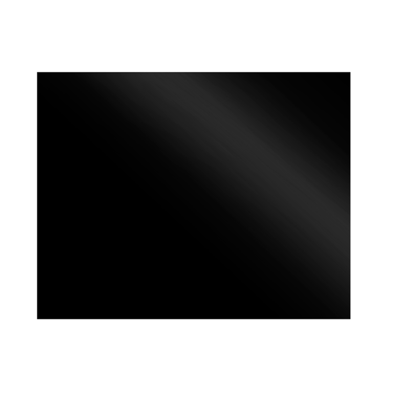 Stoves Nischenrückwand 100 cm Schwarz