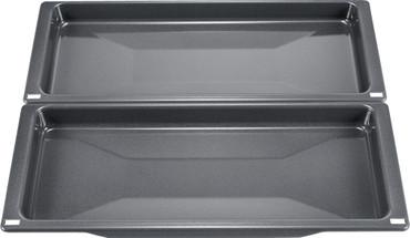 Bosch 2 Universalpfannen HEZ530000, schmales Format, Zubehör