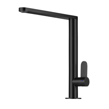 Caressi Black Line-Armatur CA118BK ECO, Küchenarmatur, schwarz