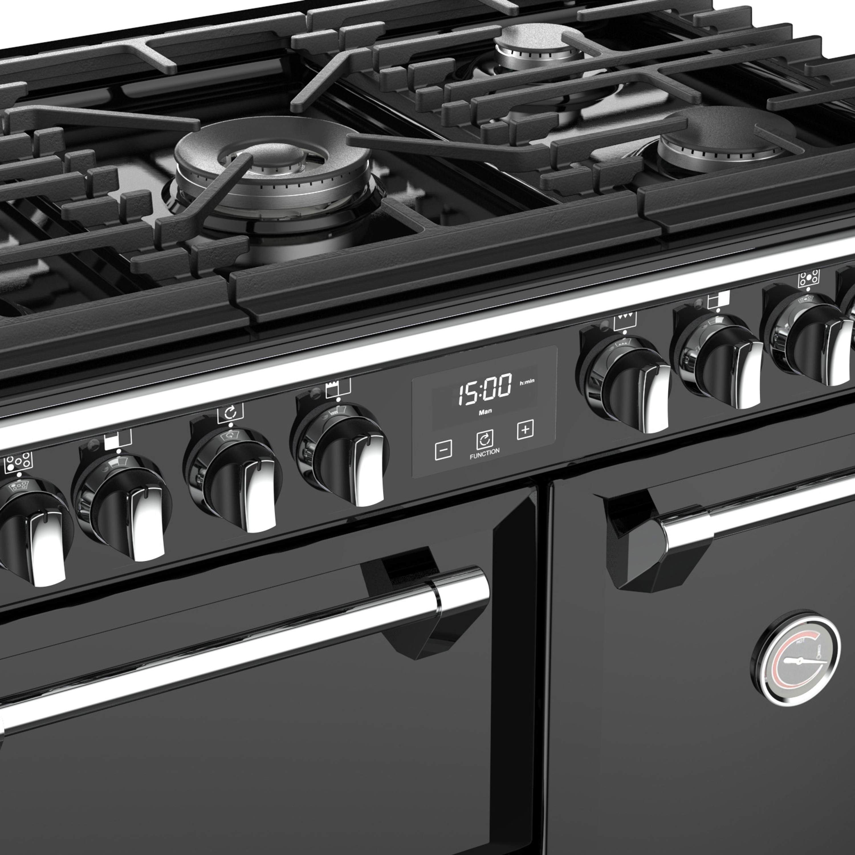 Stoves Richmond S900 Gas Schwarz Range Cooker