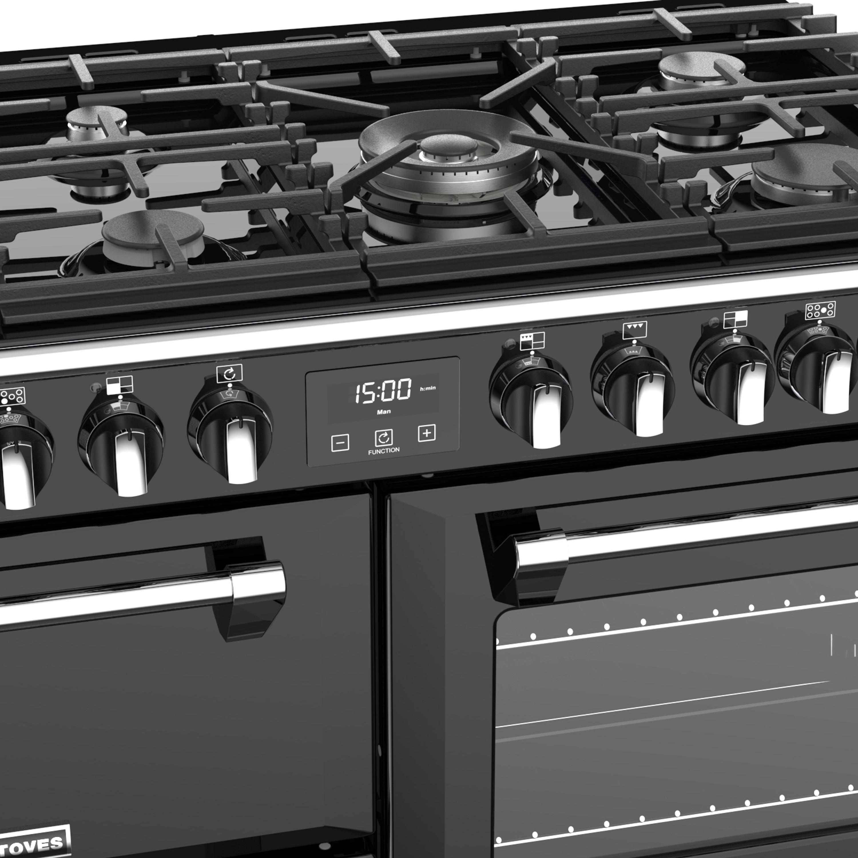 Stoves Richmond S1000 Gas Schwarz Range Cooker