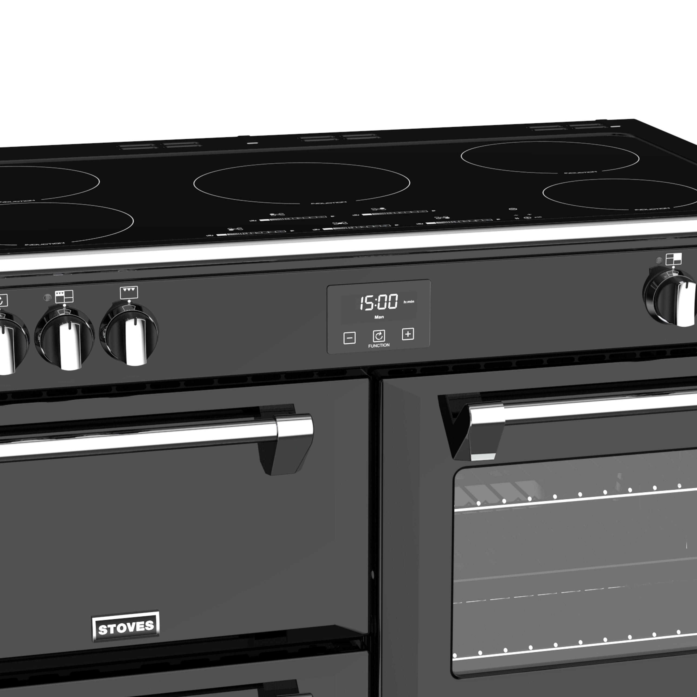 Stoves Richmond S1000 Induktion Schwarz Range Cooker