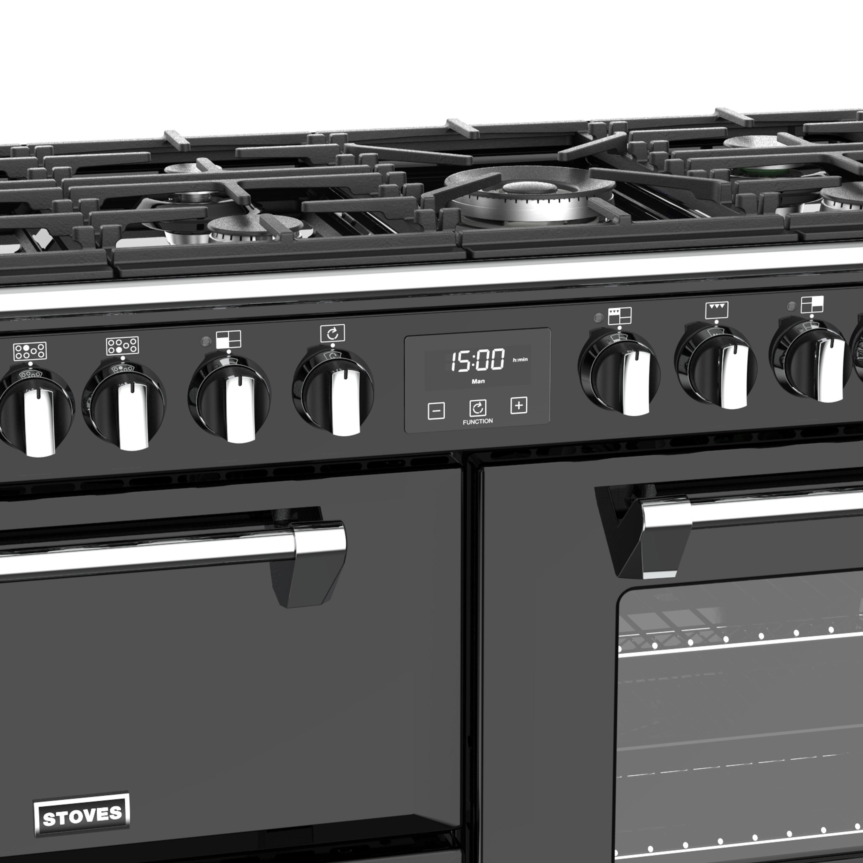 Stoves Richmond S1100 Gas Schwarz Range Cooker