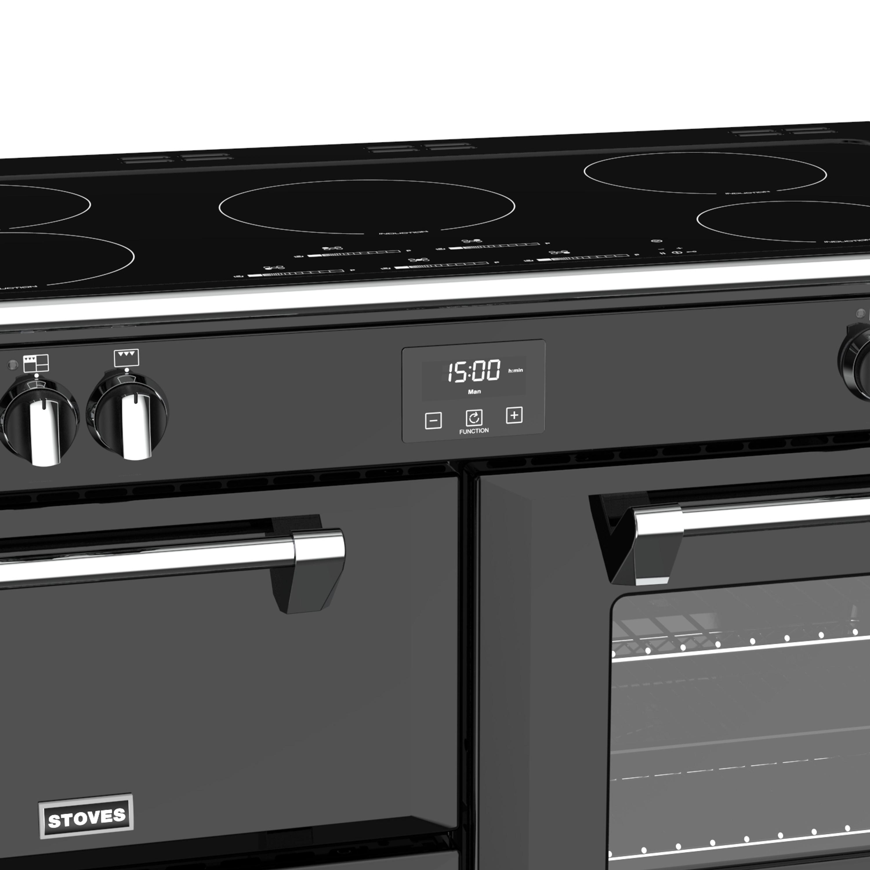Stoves Richmond S1100 Induktion Schwarz Range Cooker