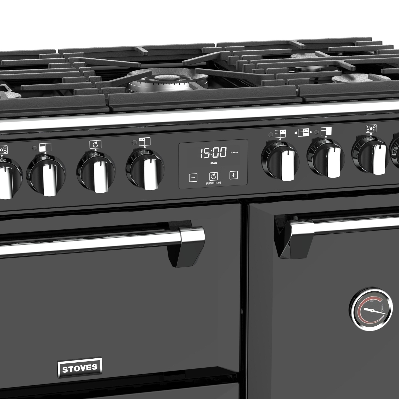 Stoves Richmond Deluxe S900 Gas Schwarz Range Cooker