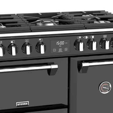 Stoves Richmond Deluxe S900 Gas Schwarz Range Cooker