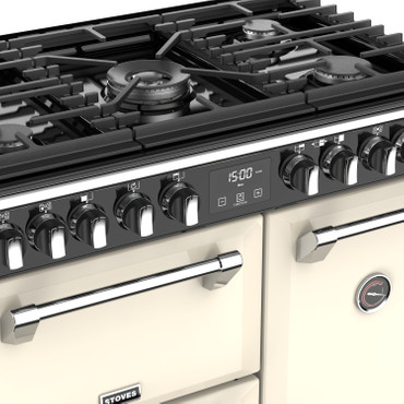 Stoves Richmond Deluxe S900 Gas Champagner Range Cooker
