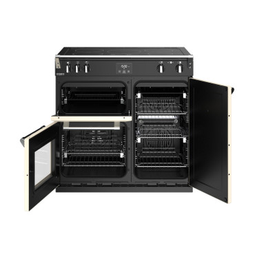 Stoves Richmond Deluxe S900 Induktion Champagner Range Cooker