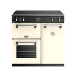 Stoves Richmond Deluxe S900 Induktion Champagner Range Cooker 001