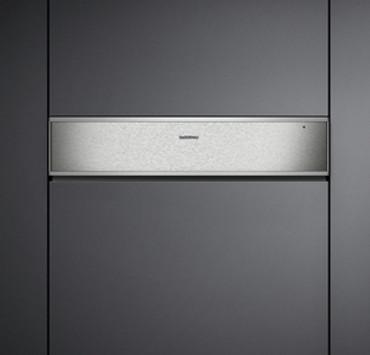 Gaggenau WS 461 110 Wärmeschublade Edelstahl-hinterlegte Glasfront Breite 60 cm; Höhe 14 cm Serie 400