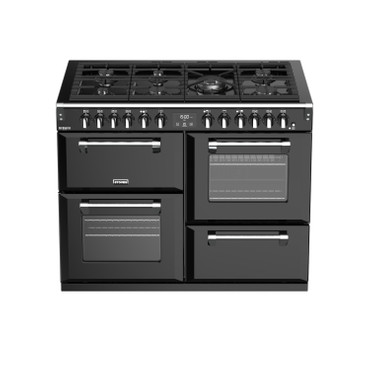 Stoves Richmond Deluxe S1100  Gas Schwarz Range Cooker