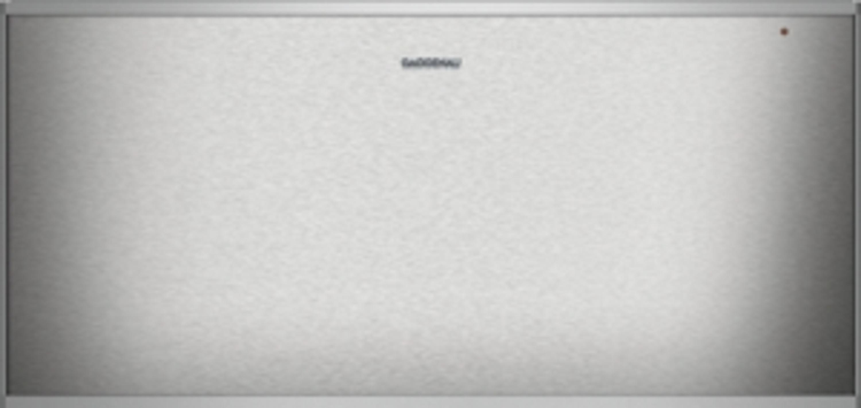 Gaggenau Wärmeschublade Edelstahl-hinterlegte Glasfront Breite 60 cm; Höhe 29 cm WS 462 110 Serie 400