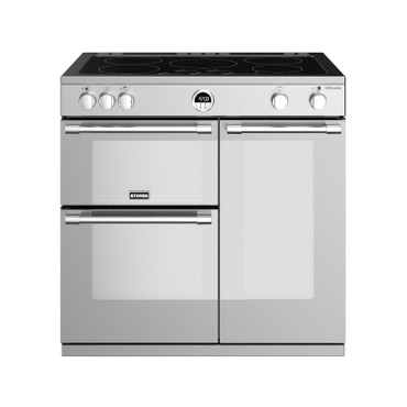 Stoves Sterling S900 Induktion Edelstahl Range Cooker