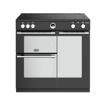 Stoves Sterling Deluxe S900 Induktion Schwarz Range Cooker