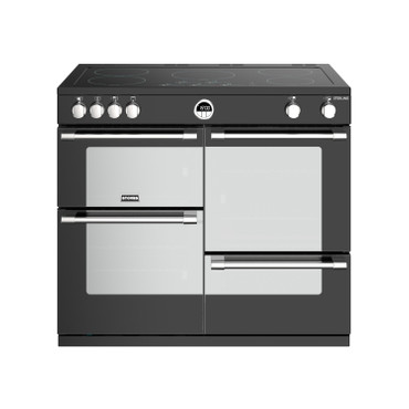 Stoves Sterling S1000 Induktion Schwarz Range Cooker
