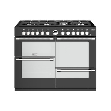 Stoves Sterling Deluxe S1100  Gas Schwarz Range Cooker